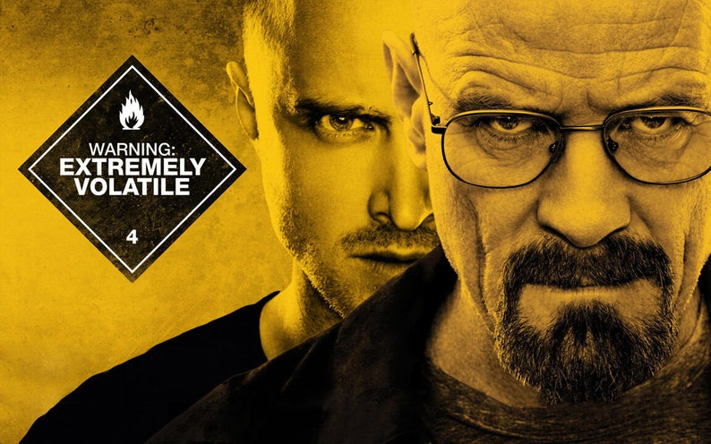 Breaking Bad Yellow Giant Poster 17*24 inch