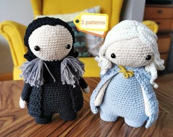 Free GoT: Jon Snow Amigurumi Pattern (Crochet) | Amigurumi pattern ... | 270x340