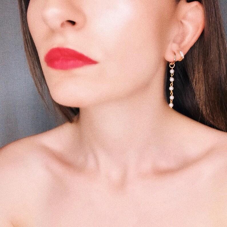 Pearl earrings,pearl jewelry,pearl hoop earrings,Silver pearl,Pearl hoops earrings,natural real pearl earrings,minimalist earrings