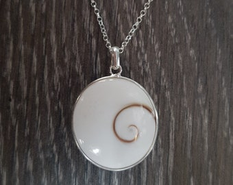 Shiva Eye & Sterling Silver Necklace