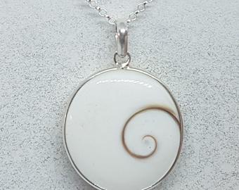 Shiva Eye & Sterling Silver Necklace