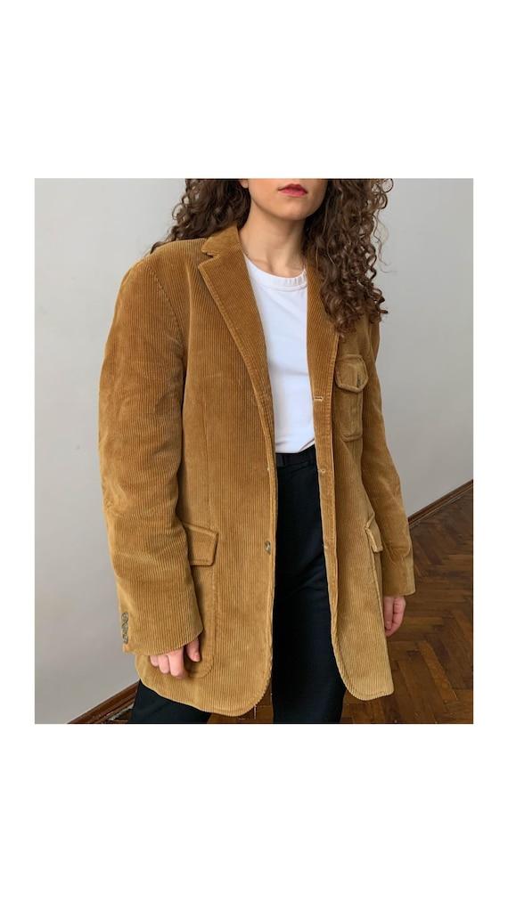 Gorgeous Boggi Milano Blazer, Ochre Velvet Suit Ja