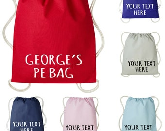 PE// Swim//Gym Bags Personalised Peter Rabbit