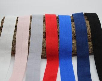 Folding rubber matt 20 mm edging tape red pink blue black