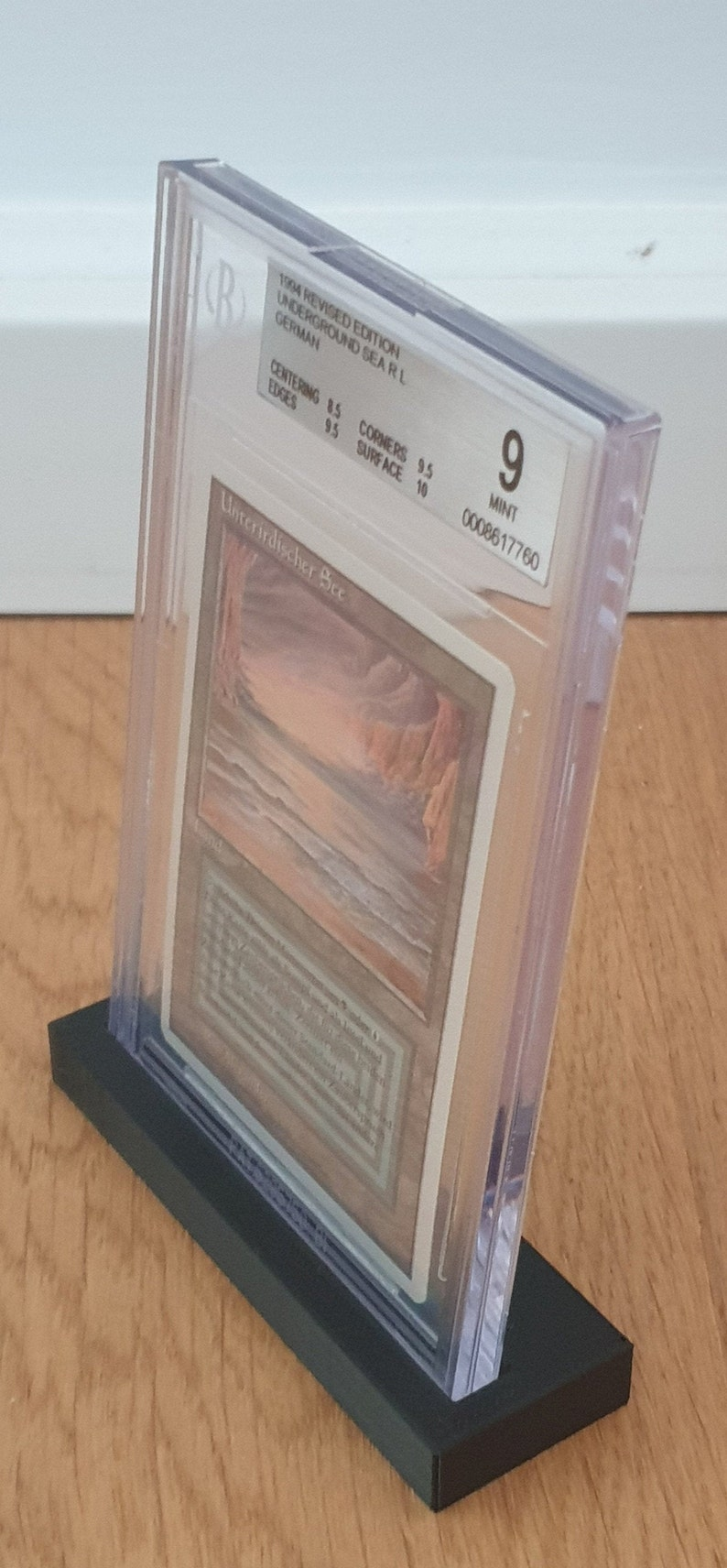 BGS TCG Card Stand for Pokemon Magic the Gathering Trading Card BGS Card HolderStand for Pokemon and Magic the Gathering Collectible Cards