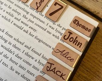 Personalised Bookmark - Bookmark - Slide on Custom Bookmark - Handmade Bookmark - Design Your Own Bookmark - DIY Bookmark - Gift Bookmark