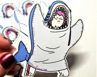 Dorohedoro Sticker/ Ebisu Sticker/ Shark Sticker/ Anime Sticker/ Matte Sticker