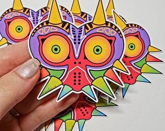 Majora Sticker/Legend of Zelda Sticker/Majoras Mask Sticker/Matte Sticker