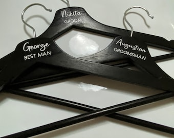 Personalised Coat Hangers - great for a special wedding, graduation or birthday outfit