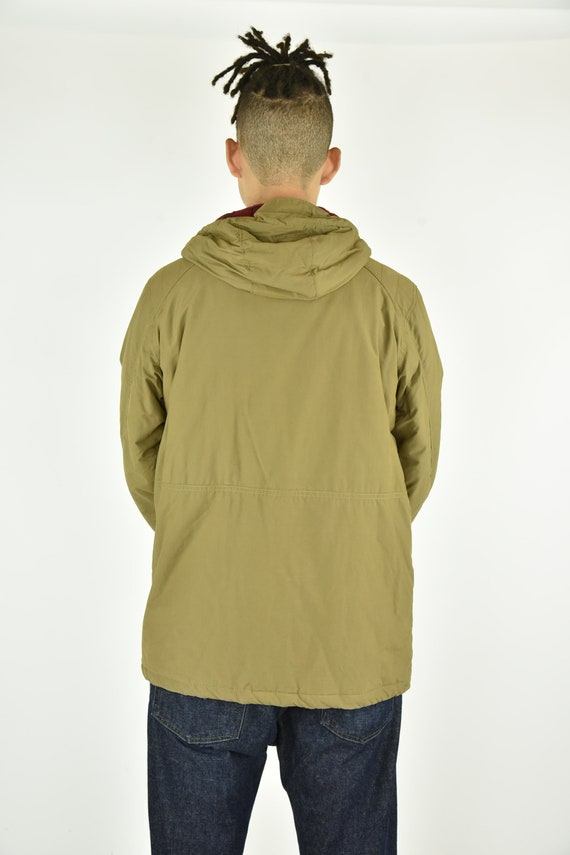 Vintage 90's Columbia Tan Jacket Size LG - image 4