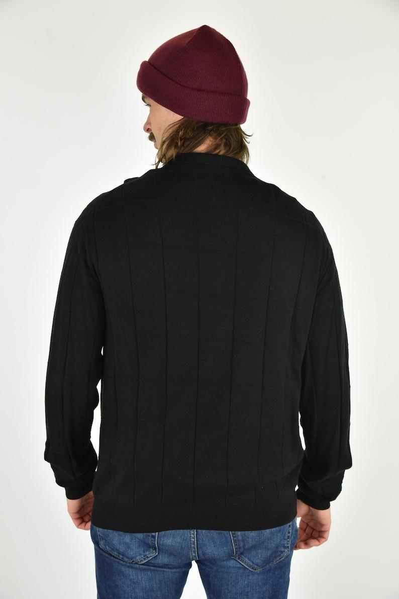 Vintage 90/'s Tasso Elba Black Sweater Size LG