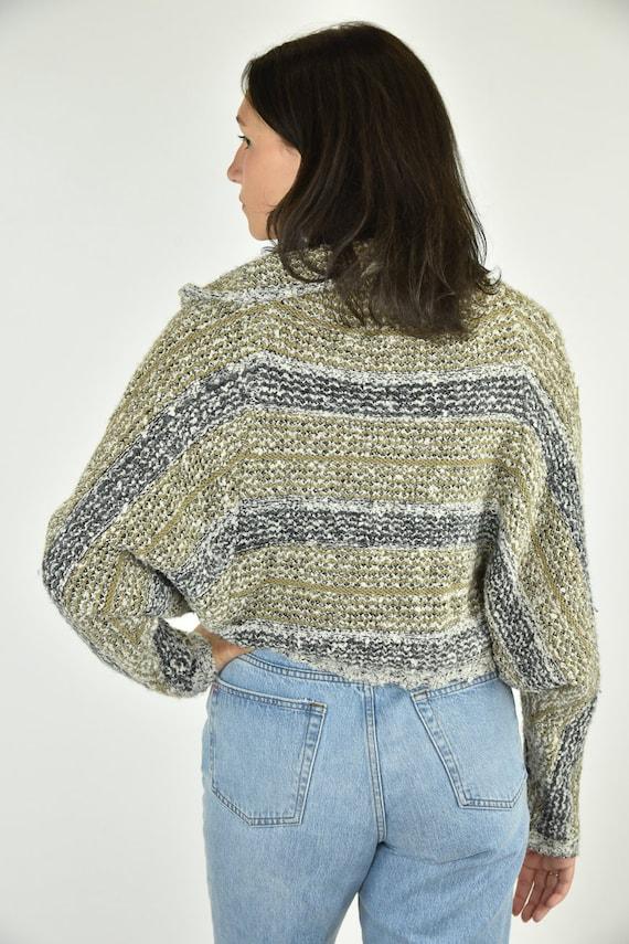 Vintage 90's Curio Tan Sweater Large - image 3