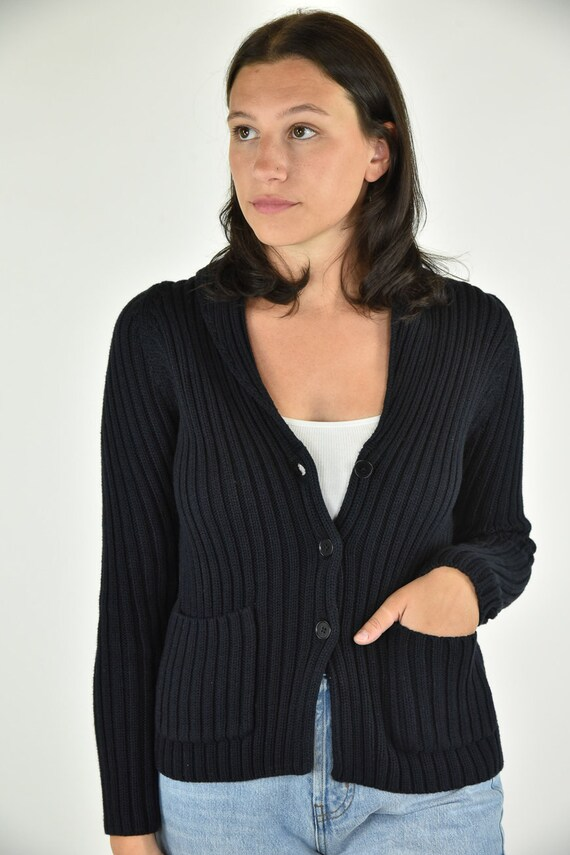 Vintage 90's Talbots Black Sweater Small