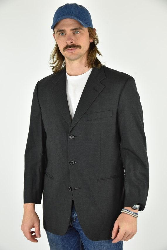 Vintage 90's Brooks Brothers Grey Blazer Size 39