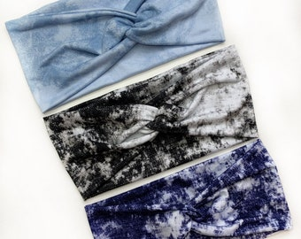 Tie Dye Collection | Willow our Twist Headband | 3 Colours