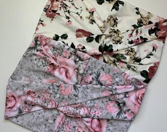Rose Garden + Daybreak Floral | Cedar our Multi-Way Headband | Wide Headband