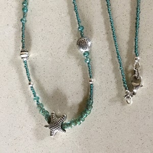 Window to a sea life Necklace