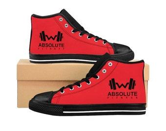 Men's High-top Sneakers RED
