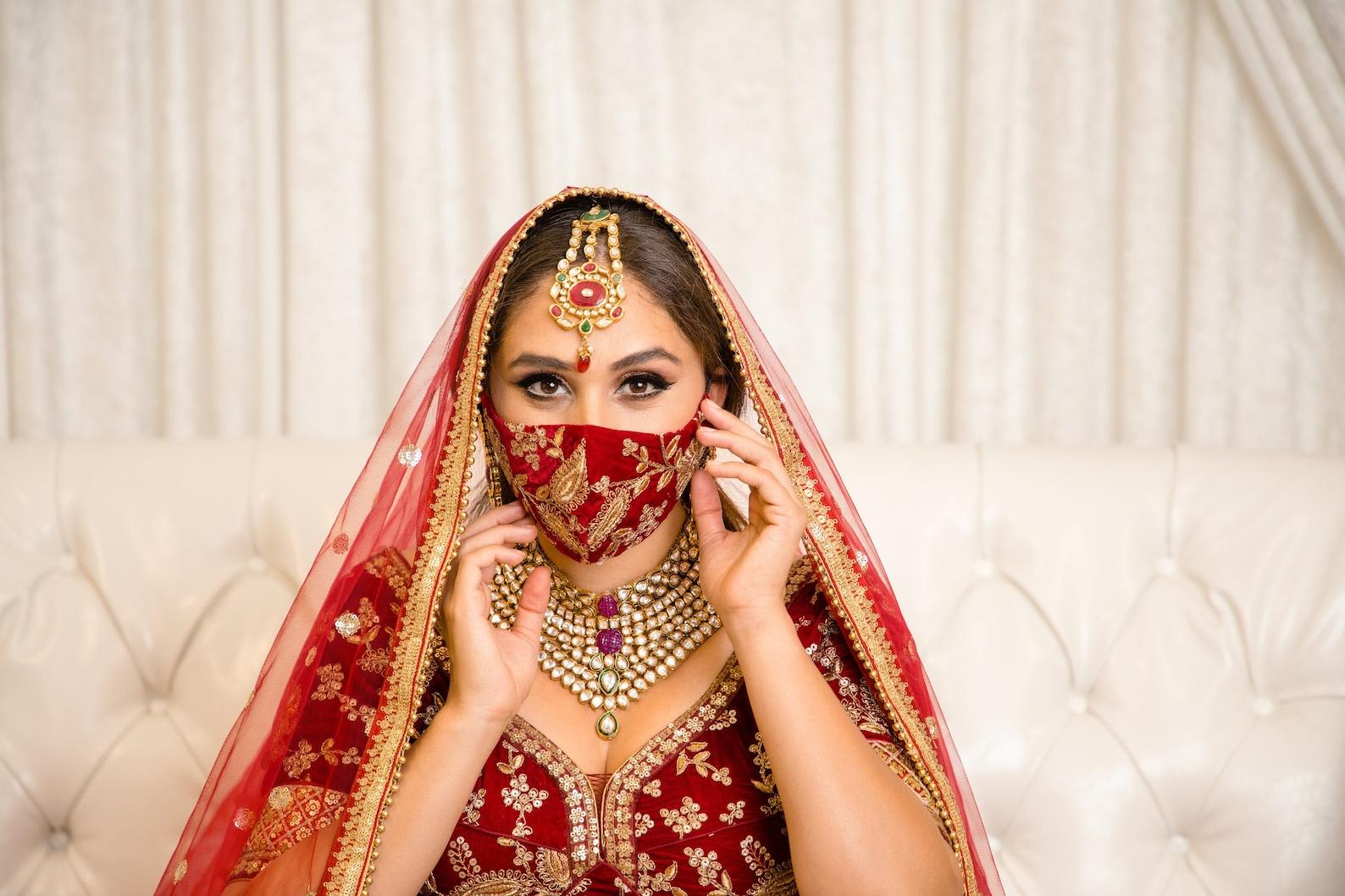 Indian Face Masks Designs
