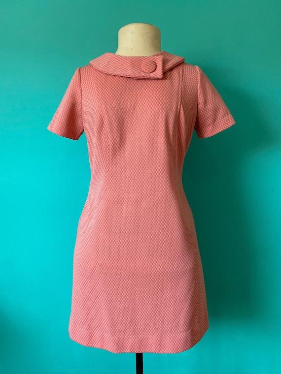 60s Mod GoGo Dress Pink