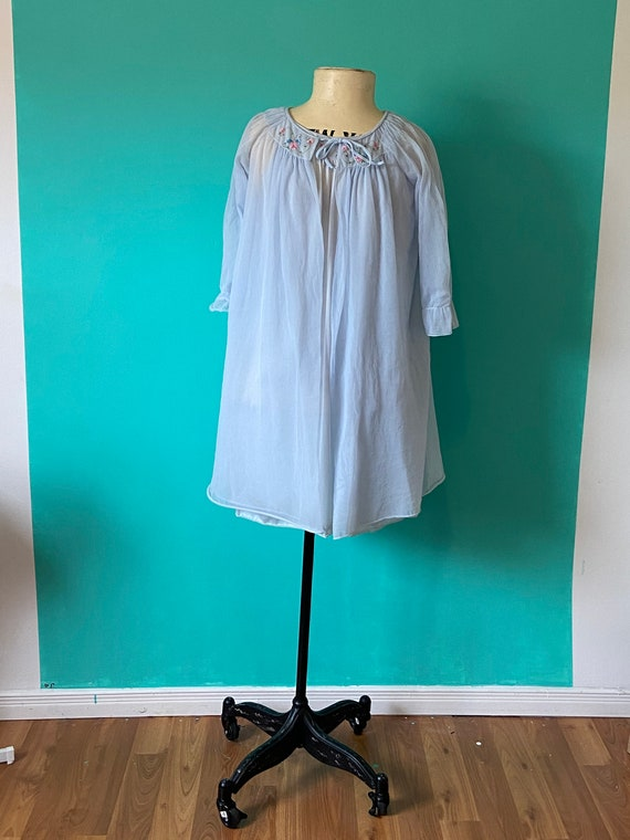 60s BabyDoll Set Pale Blue