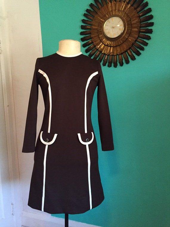 60s Mod GoGo Dress