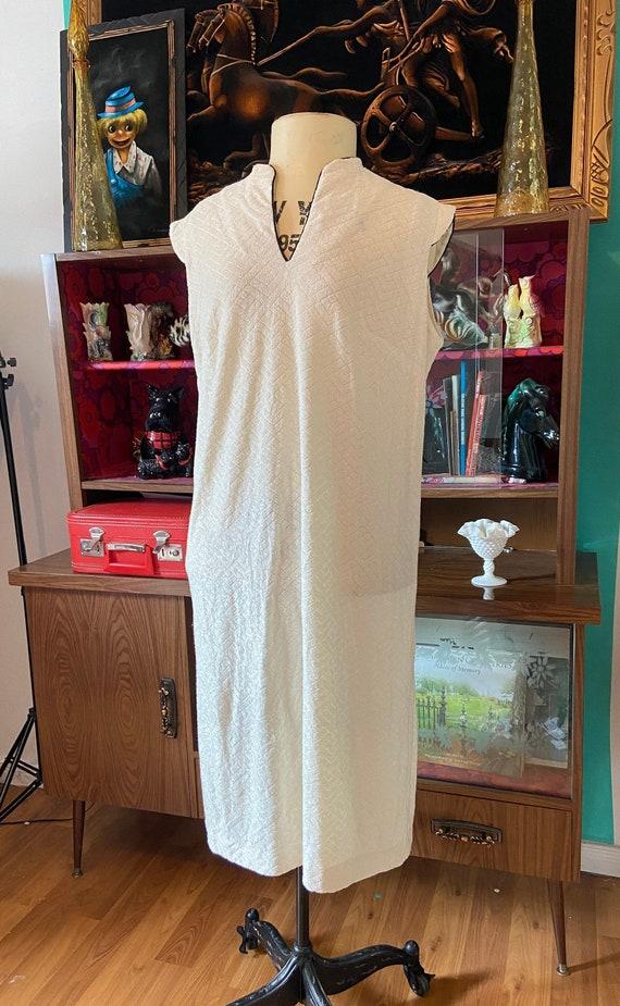 70s Vintage terrycloth dress