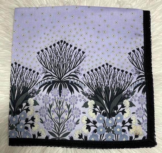 Anna Sui Vintage Handkerchief 23 x 23 inches - image 1