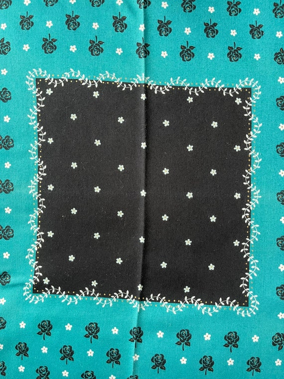 """Anna Sui Vintage Handkerchief Made in Japan 18""""x1… - image 5"""