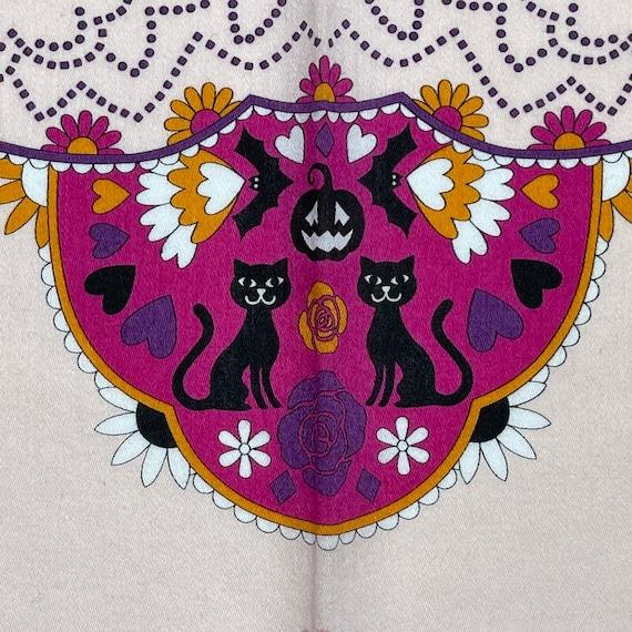 Anna sui Vintage handkerchief 19 x 19 inches - image 6