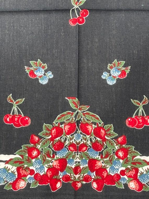Anna Sui Vintage handkerchief 19 x 20 inches - image 3