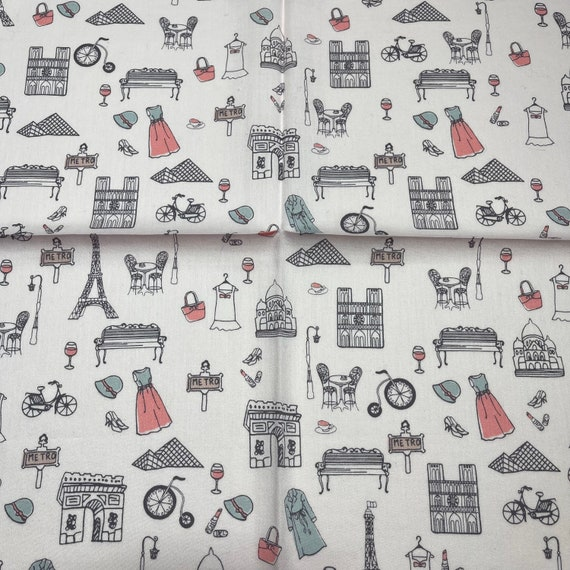 Marie Claire /bis vintage handkerchief 19 x 19 in… - image 5