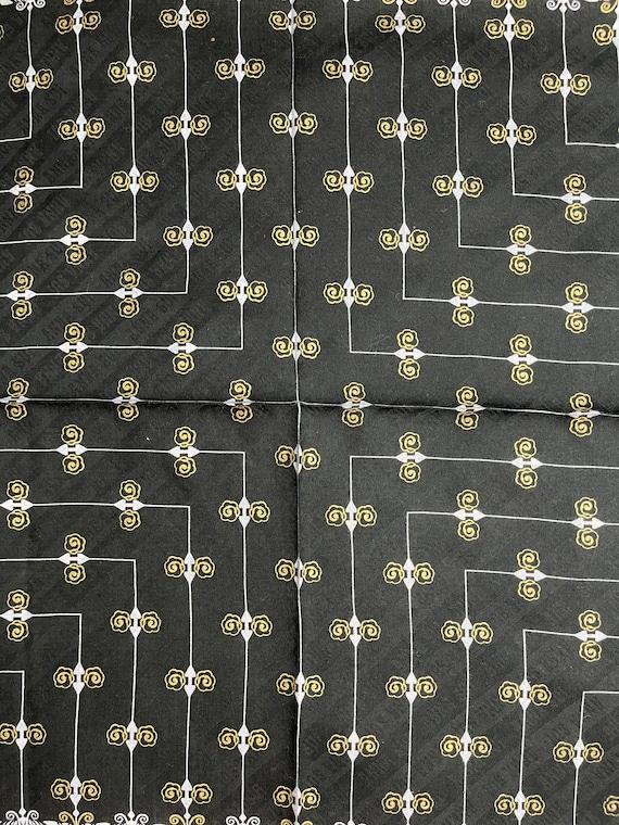 "Anna Sui Vintage Handkerchief 18""x18"" Cotton - image 5"