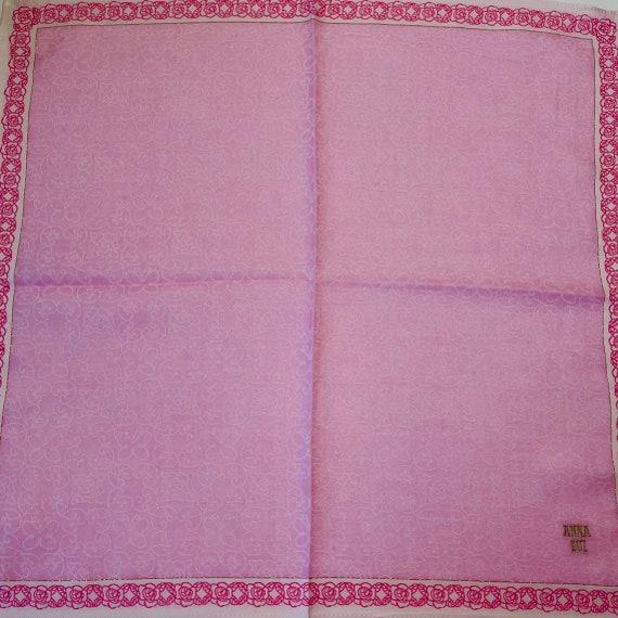 Anna Sui Vintage Handkerchief 18 x 18 inches - image 4