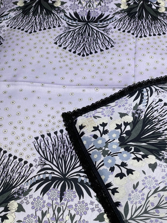 Anna Sui Vintage Handkerchief 23 x 23 inches - image 6