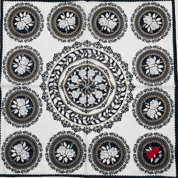 Anna Sui Vintage handkerchief 19 x 19 inches - image 2