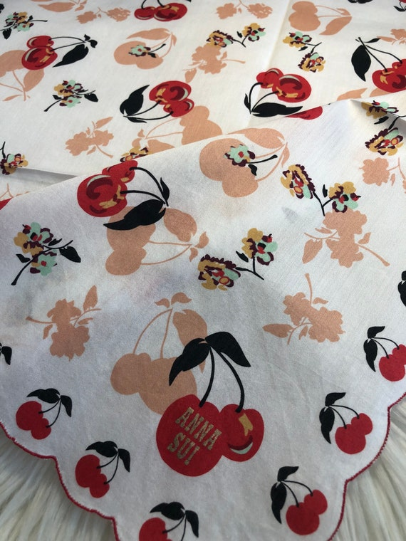 Anna Sui Vintage Collection Handkerchief Made in … - image 1