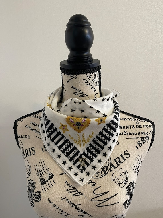 Anna Sui vintage Handkerchief 22 x 22 inches - image 1