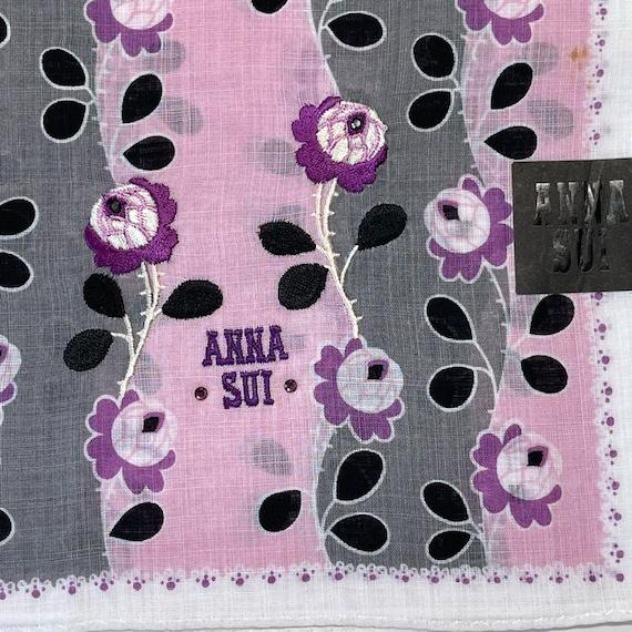 Anna sui Vintage handkerchief 20 x 20 inches - image 1