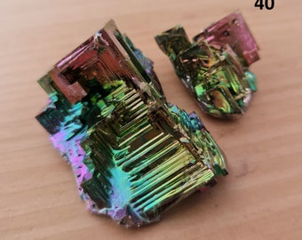 Gift gem bag 35g Kids  Jewellery making Bismuth Healing Crystals
