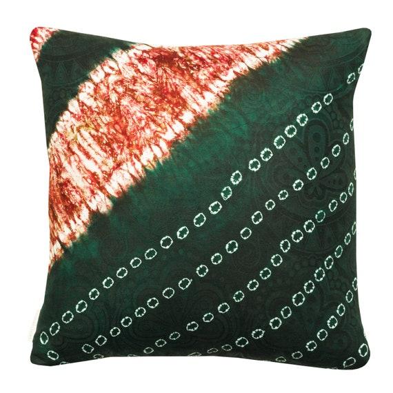 Ronke cushion cover, Adire print