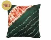 Ronke cushion cover, Adire cloth