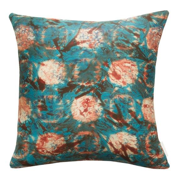 Ima cushion cover, Adire print