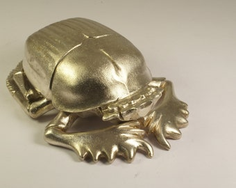 Scarab table object silver 925