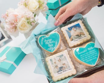 Mother's Day Cookie Gift | Mother's Day Gift | Mother's Day Photo Cookie|  Gift for mom | Custom Cookie Mommy Gift| Gift to mom