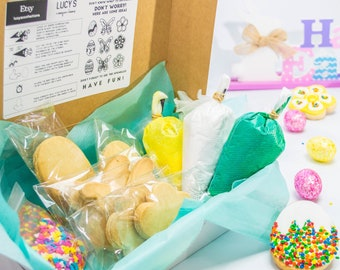 Spring/Easter cookies DIY Cookie Kit | Cookie kit| Cookie Decorating Kit | Birthday Gift| Decorate with children's| Easter Gift
