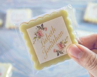 Wedding favor cookie | Custom Wedding Cookies | One Dozen