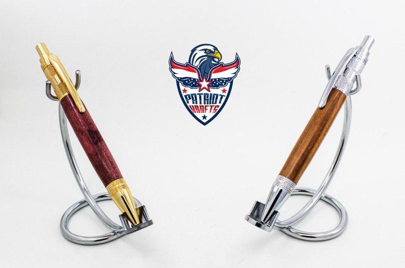 Premium Wood Click Pen