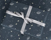 Galaxy Wrapping Paper - Luxury Gift Wrap - Birthday Gift Wrap - Decorative Paper