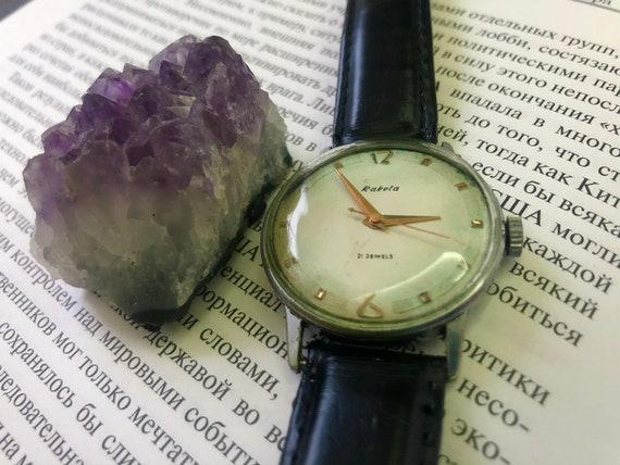 """Soviet """"Raketa"""" watch, wrist watches,Vintage watch"""
